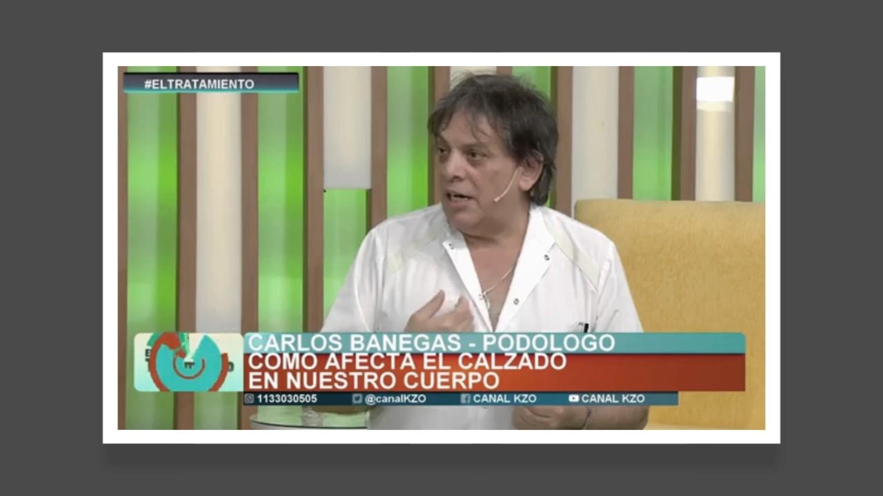 Optium Podología - Carlos Banegas en El Tratamiento TV - YouTube