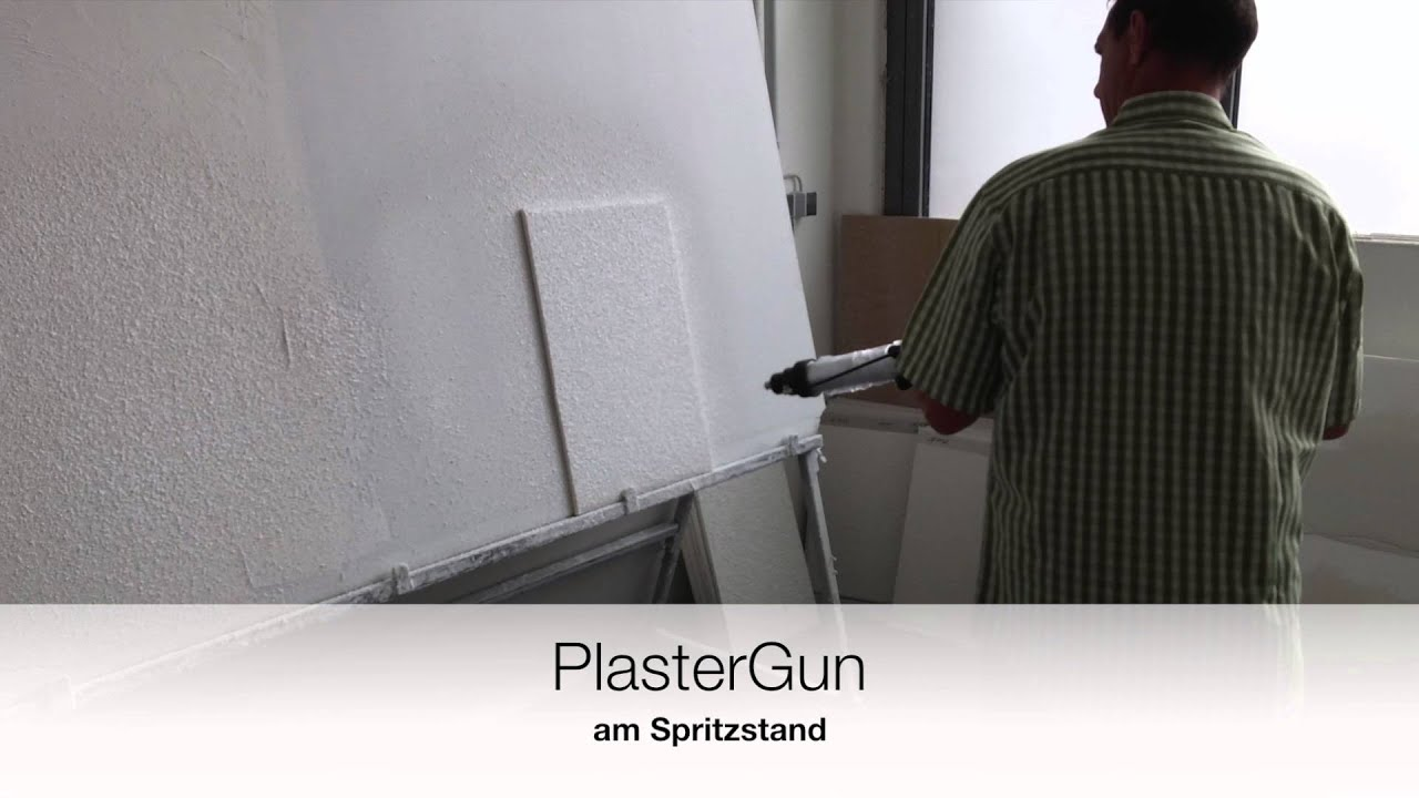 plastergun0 6 putz spritzpistole f r schlauchbeutel youtube. Black Bedroom Furniture Sets. Home Design Ideas
