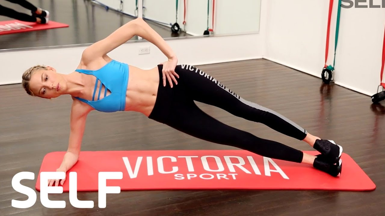 Victoria's Secret Angel Martha Hunt's Abs Workout | SELF ...