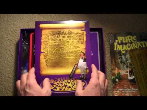 Willy Wonka Box Set-Ultimate Collectors Edition-40th Anniversary
