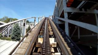 Jack Rabbit Roller Coaster POV Kennywood Amusement Park Front Seat On-Ride