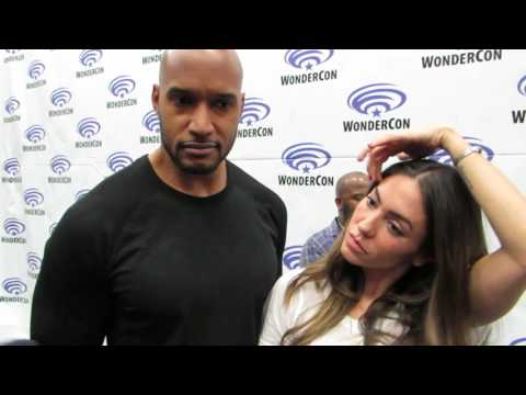 Henry Simmons & Natalia CordovaBuckley talk Agents of SHIELD and the Framework at WonderCon 2017