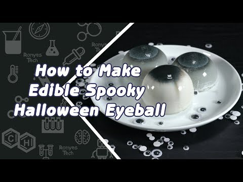 Make Edible Spooky Halloween Eyeball