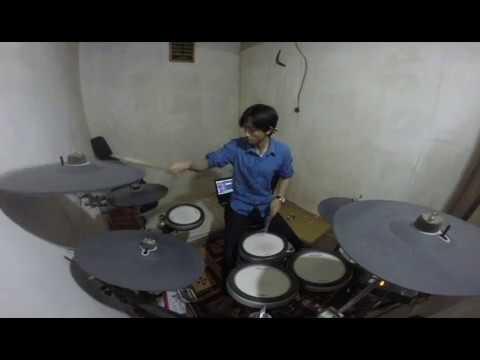 Andra & The Backbone - Dengarkan aku Drum Cover.