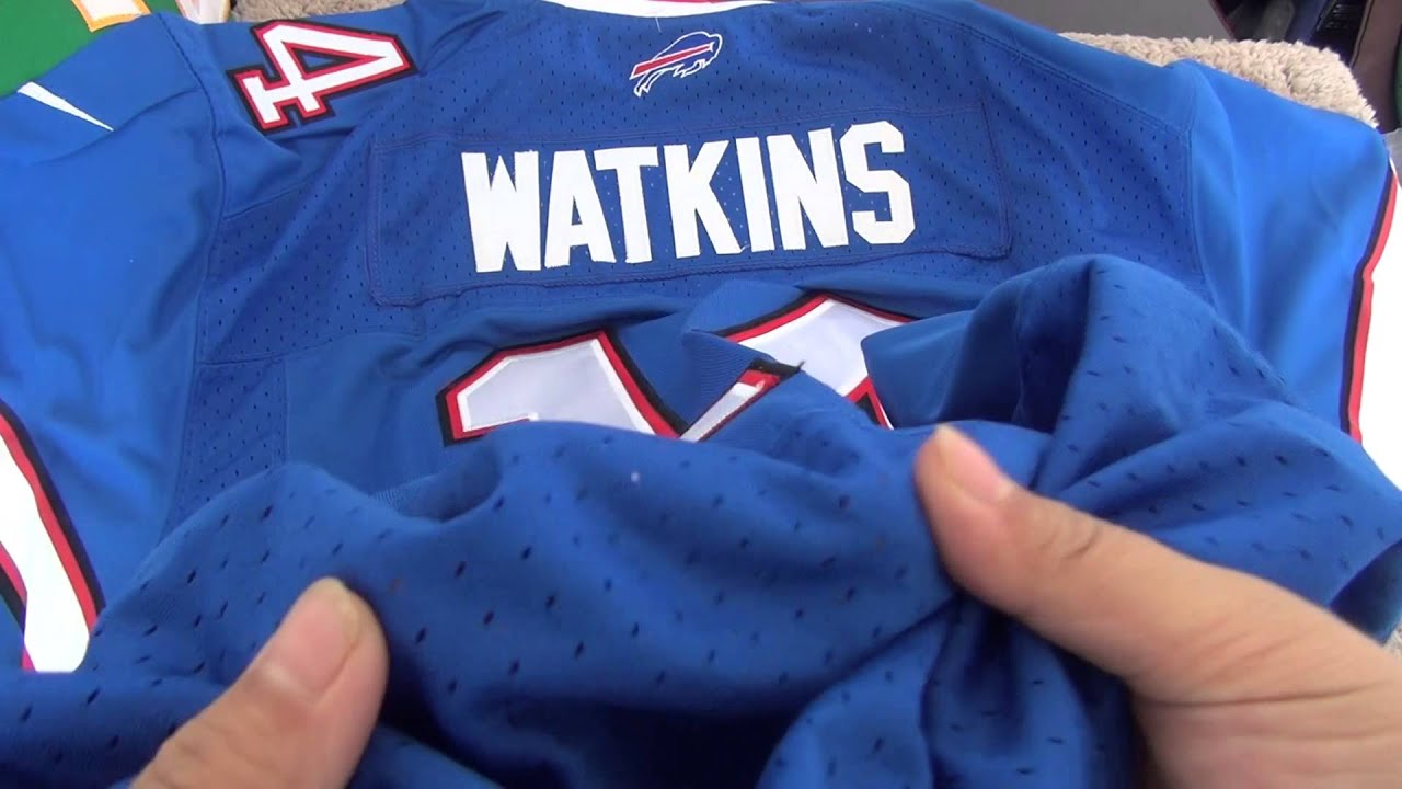 Buffalo Bills 14 Sammy Watkins Royal blue jersey - YouTube