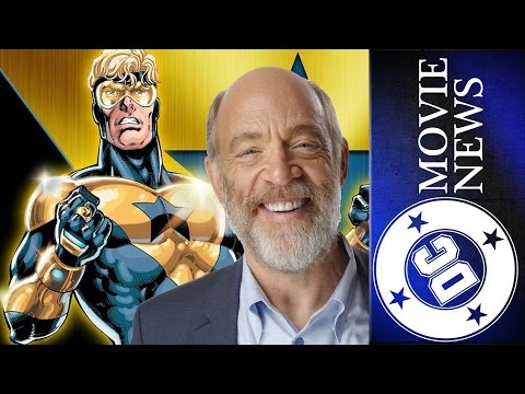 Booster Gold not in DCEU? JK Simmons Wraps on Justice League and More! | DC Movie News