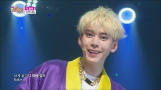 [HOT] MYNAME - Just tell me, 마이네임 - 딱 말해, Show Music core 20150516