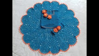 Вяжем крючком платье на девочку 6-7 лет//часть 4.26-32 ряды//knit dress for girl