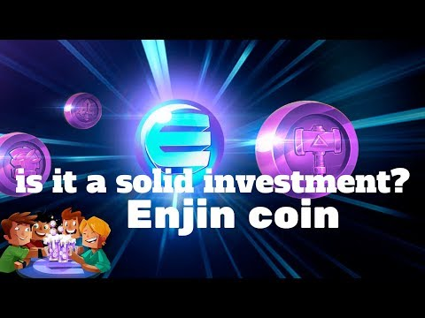 ENJIN COIN  - A COIN WITH AN ACTUAL PRODUCT! GAMING COIN!