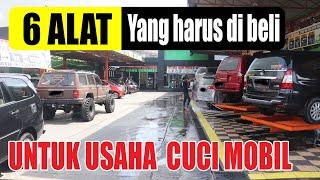 6 PERALATAN  YANG HARUS ANDA BELI SEBELUM BUKA USAHA CUCI MOBIL #usahacucimobil #franchise #carwash.