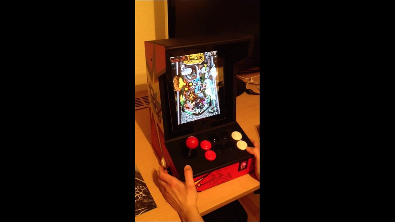 iCade with pinball-buttons (Mod)