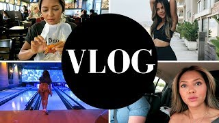 Vlog: Good American Activewear, Responding to Comments, Filming, What We Ate and More!!