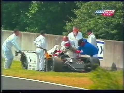 1999 - Le Mans - Aftermath of JJ Lehto