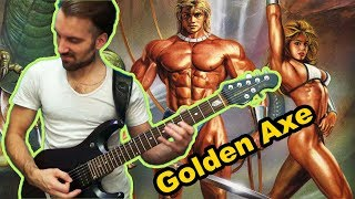 Golden Axe (I, II, III) OST Mega Metal Cover. Sega genesis game (by Progmuz)