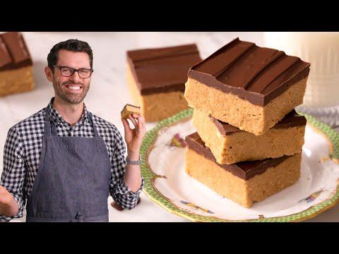 Peanut Butter Bars - Preppy Kitchen