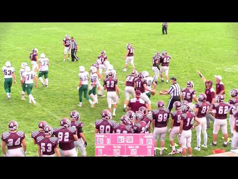 8-18-17 Varsity Football Antigo vs Berlin
