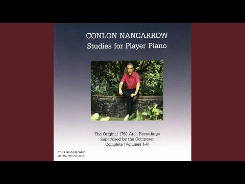 Нанкарроу, Конлон - Studies for Player Piano Vol. 1
