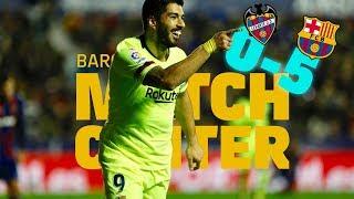 #LevanteBarça (0-5) | BARÇA LIVE | Warm up & Match Center