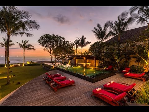 Absolute Beachfront Freehold Villa For Sale in Canggu