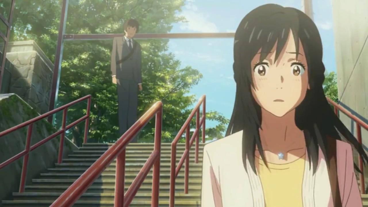 Your Name 君の名は 너의 이름은 Kimi No Na Wa Last Scene Youtube