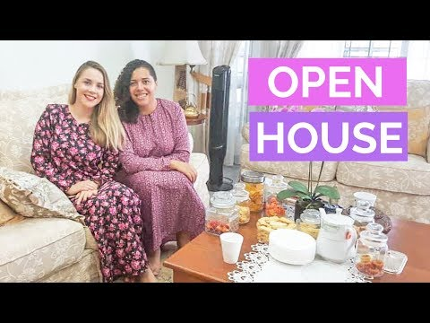Hari Raya Celebrations with Malaysian Family - OPEN HOUSE
