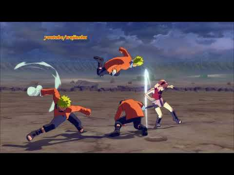 Naruto Ninja Storm 4 Road to Boruto PC MOD 60 FPS - Naruto Clones Master Custom Moveset Mod Gameplay