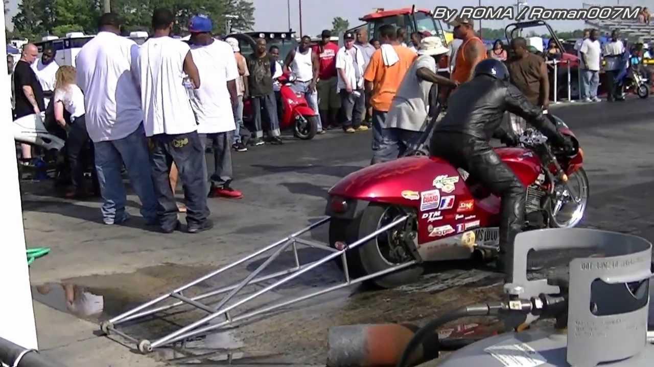 Drag Bike Vs Hayabusa Drag Racing Dunn Benson Nc Youtube