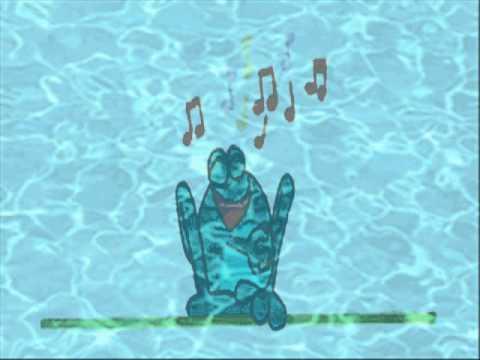 Worksheet. Canciones infantiles  La rana que estab cantado sentada debajo
