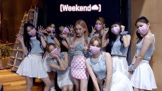 오늘은 탱구 아니고 가수야☁️💗🎤 | 'Weekend' 음악방송 비하인드 | 태연 TAEYEON