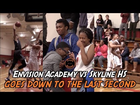 Envision Academy vs Skyline HS I Keshad Johnson with a Nasty Poster I Goes Down to the Last Second