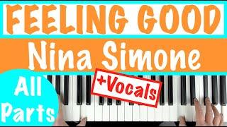 How to play quotFEELING GOODquot   Nina Simone  Piano Accompaniment Tutorial