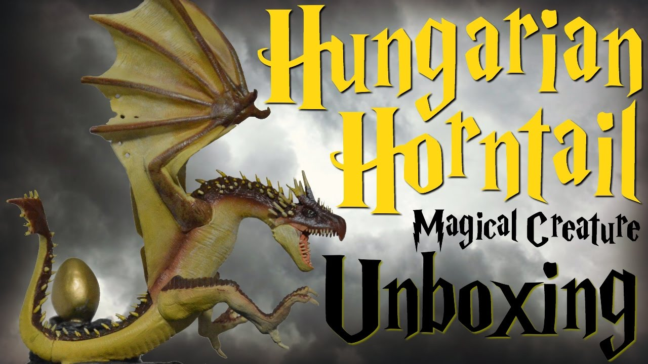 Harry Potter Magical Creature Unboxing (Hungarian Horntail)