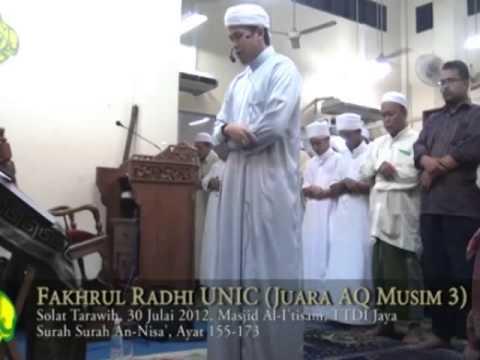 Bacaan Al-Quran oleh Ustaz Fakhrul Radhi - (Surah An-Nisa' Ayat 155-173)