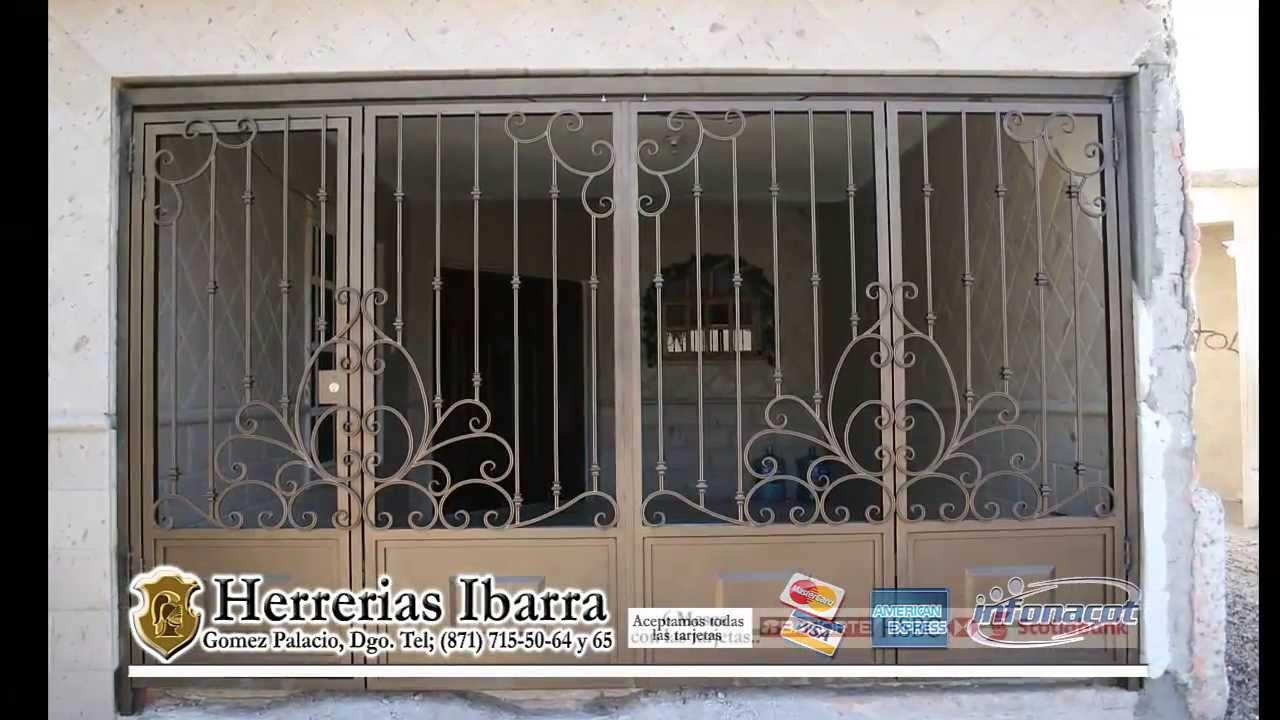 Barandales youtube for Ver modelos de puertas para casa