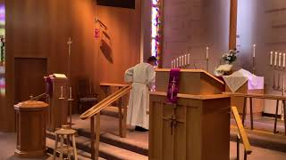First Sunday in Lent, Good Shepherd Lutheran Church, LCMS, Two Rivers, WI, Rev William Kilps