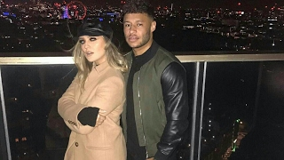 Perrie edwards and alex oxlade chamberlain having fun together (alerrie