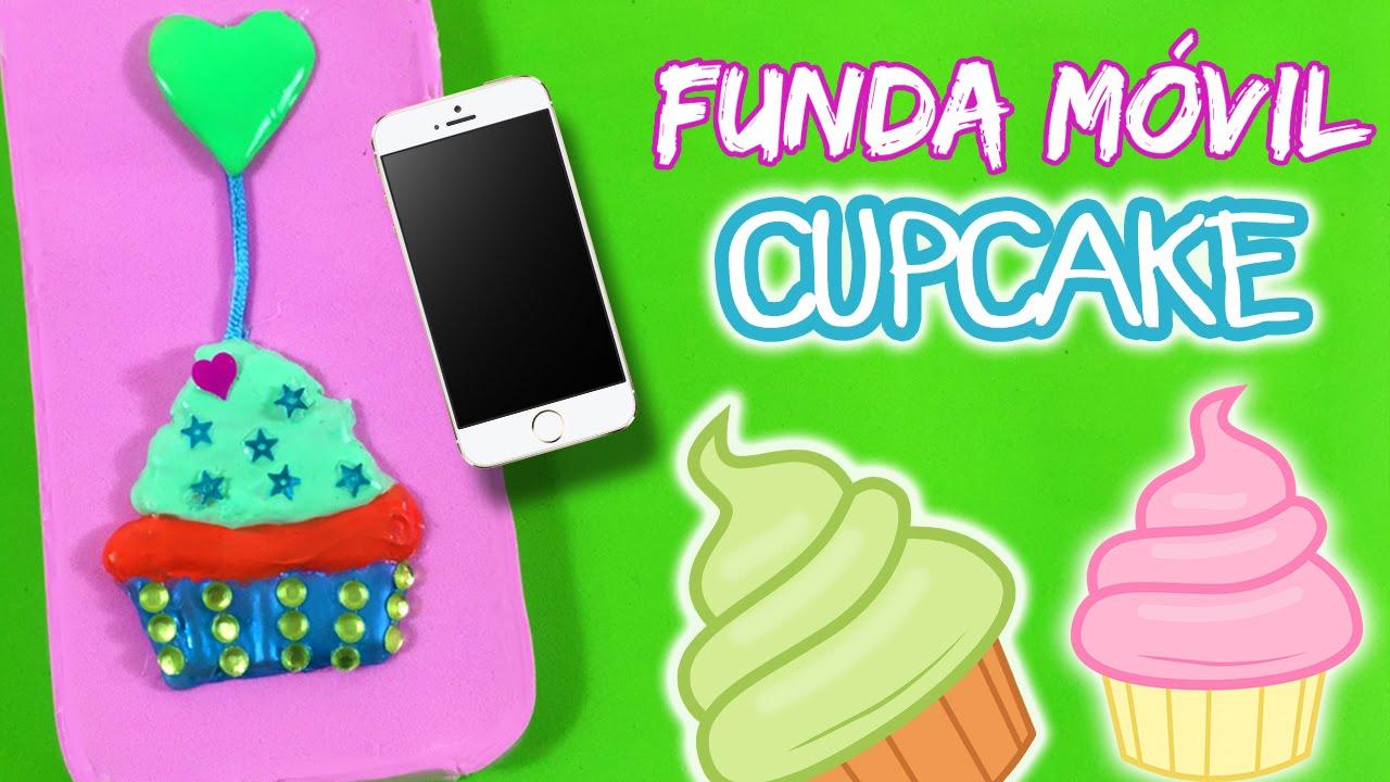 Funda para movil casera cupcake diy mobile cover youtube - Fundas para moviles caseras ...
