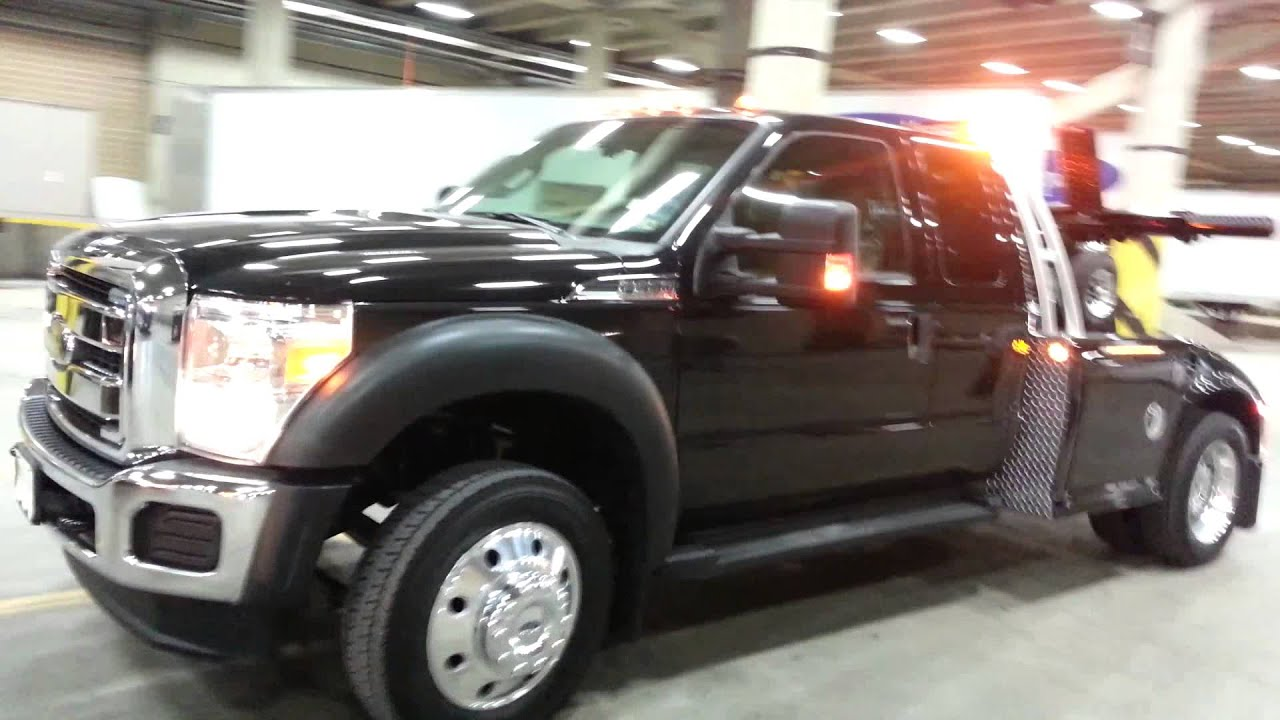 2013 F 450 XLT CREW CAB V 8 GAS ENGINE TOW TRUCK YouTube