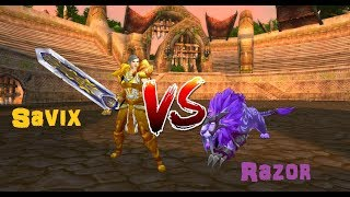 Razorchaos VS Savix (Feral Druid vs Ret Paladin) BFA 8.0.1 Prepatch