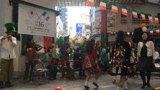 2016年3月19日に名古屋市大須で行われたSt. Patrick's Day Festivalのオ...