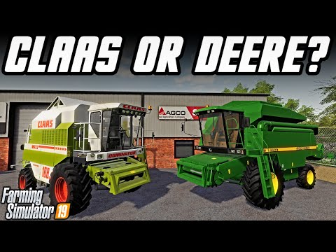 New John Deere or Claas Combine? + New Seasons Lighting! | Somerset Farms | Farming Simulator 19