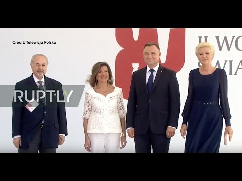 : Leaders attend WWII 80th anniversary commemorations in Warsaw