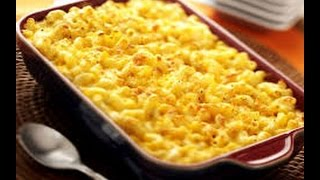 MACARRONES CON QUESO – mac and cheese