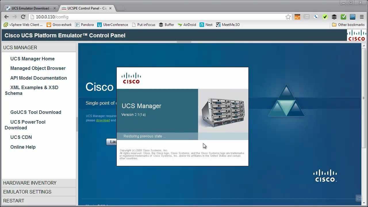 The Cisco UCS Platform Emulator Part 1 - Introduction