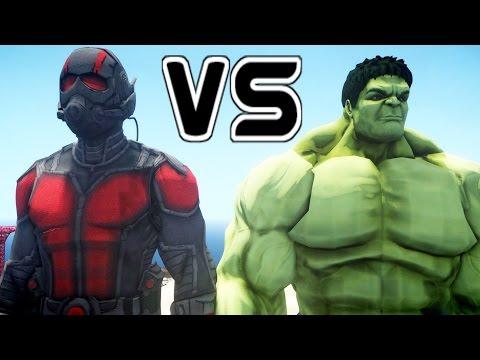 ANT-MAN VS HULK - EPIC BATTLE
