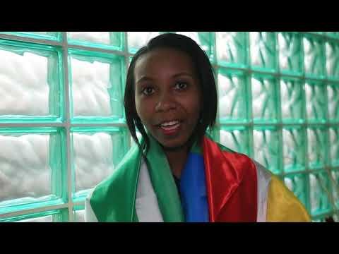 Arrivals: Miss University Africa COMOROS