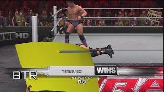 WWE Smackdown vs Raw 2011 Road To Wrestlemania Chris Jericho vs Triple H WWE Championship Part 11
