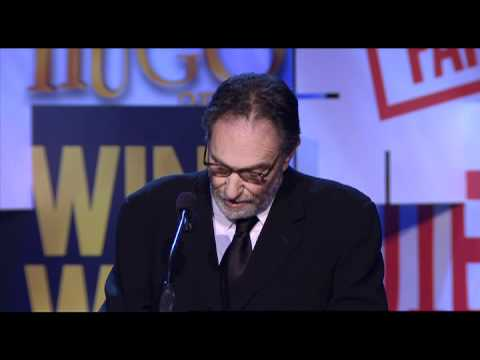 Eric Roth (Benjamin Button, Forrest Gump) accepts the 2012 WGAW Screen Laurel Award