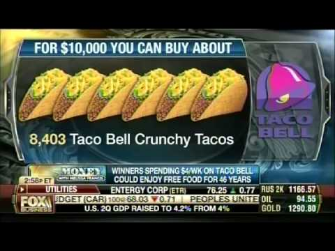 Bruce Turkel on Fox Business: Taco Bell for life!