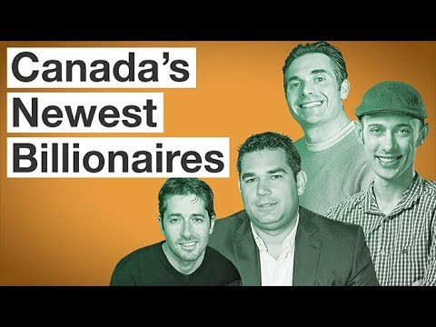Canada's Newest Billionaires